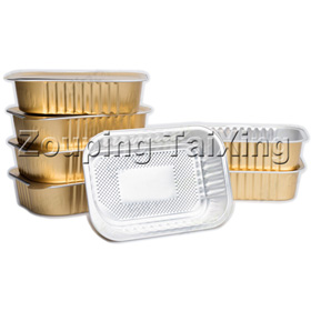 Coated Aluminum Foil For Airline Food Container