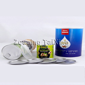 Heat Seal Aluminum Lidding Foil For Powder Milk Can