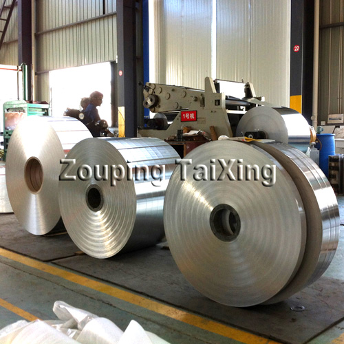 Cold welding aluminum strip #1